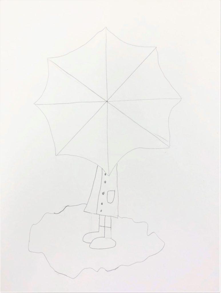 Color Wheel Umbrella Art Lesson For Kids Leah Newton Art