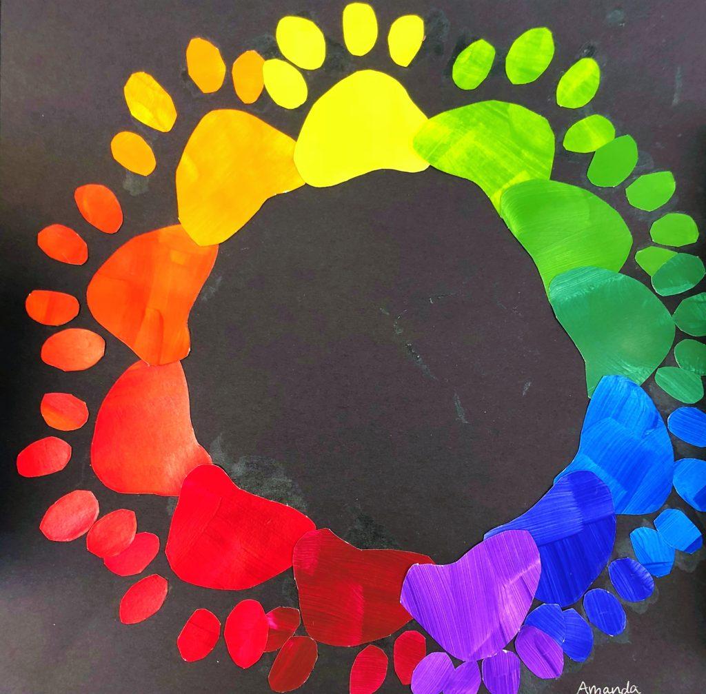 Middle School Creative Color Wheel Art Lesson For Kids Leah Newton Art