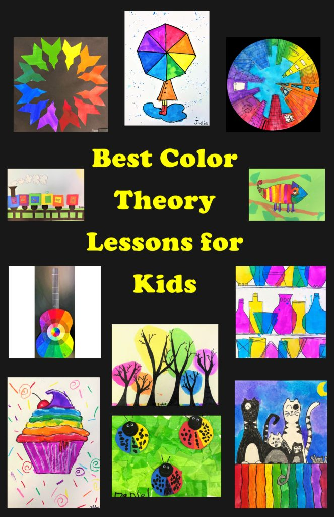 Best Color Theory Art Lessons For Kids Leah Newton Art